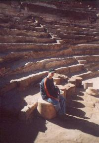 Philip in the Theater, Petra.