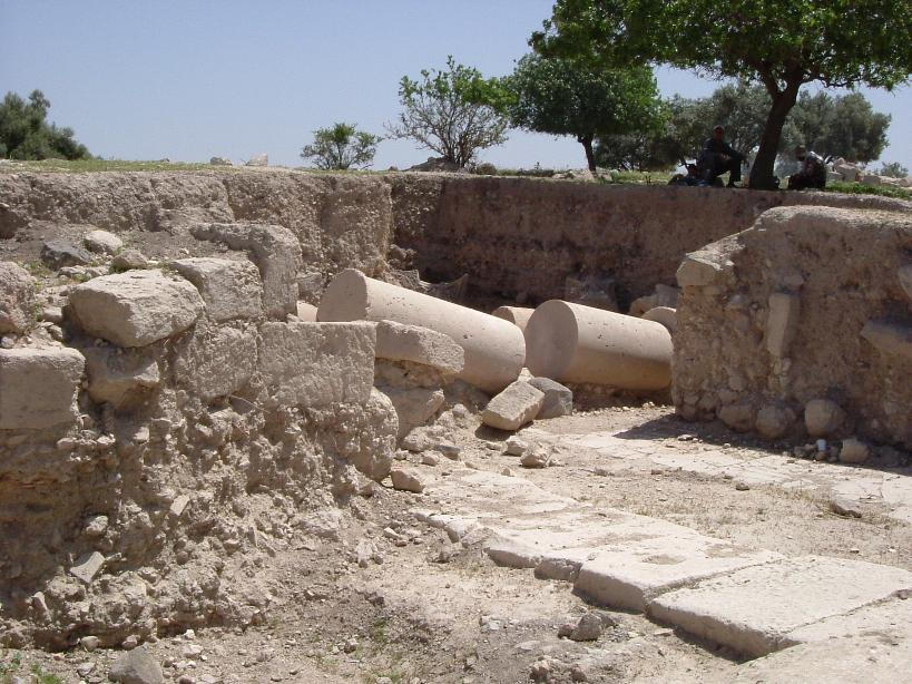 New Octagonal Church-Excavations