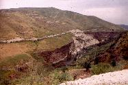 The Golan and the Yarmouk below Umm Qays